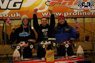 Darren Bloomfield wins at EMMA Indoor Buggy Masters