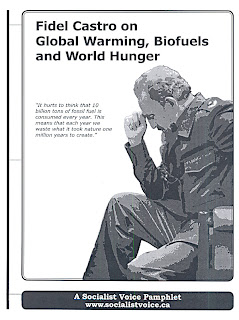 Pamphlet: Fidel Castro on Global Warming, Biofuels and World Hunger