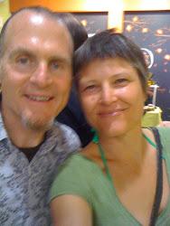 Karina with film maker Taggart Siegel at MVFF