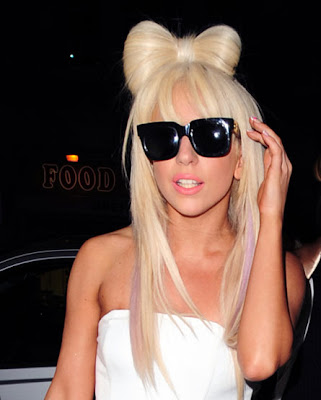 Lady Gaga's Lovely long straight hairstyles short bob straight hairstyles