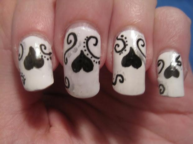 heart nail design - pccala
