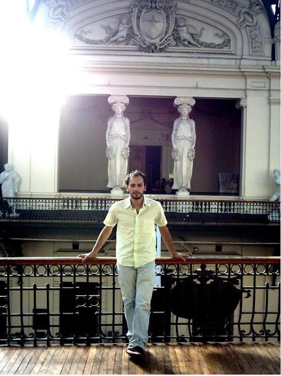 Chicho en el museo Bellas Artes