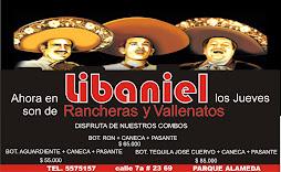 LLEGARON LAS RANCHERAS Y VALLENATOS A LIBANIEL