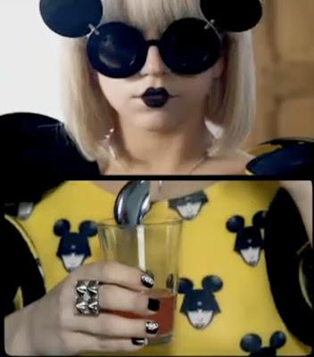 Lady Gaga wore the same