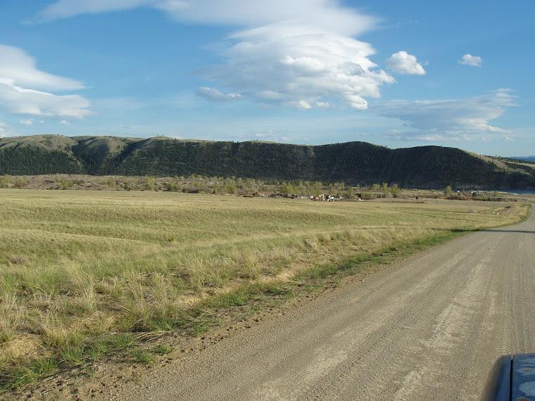 Saphire mining area