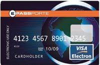 ePasspote Visa Electron