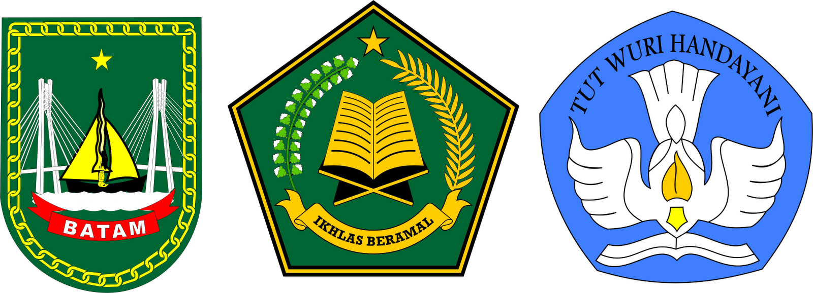 Th3 9uru Z0n3 Logo Diknas Kemenag Dan Pemko Batam