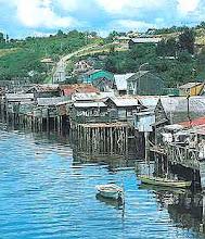 marea alta Gamboa Castro Chiloé