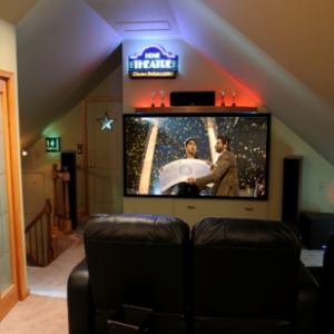 Home amphitheater architecture concepts home theater for Home theater design concepts