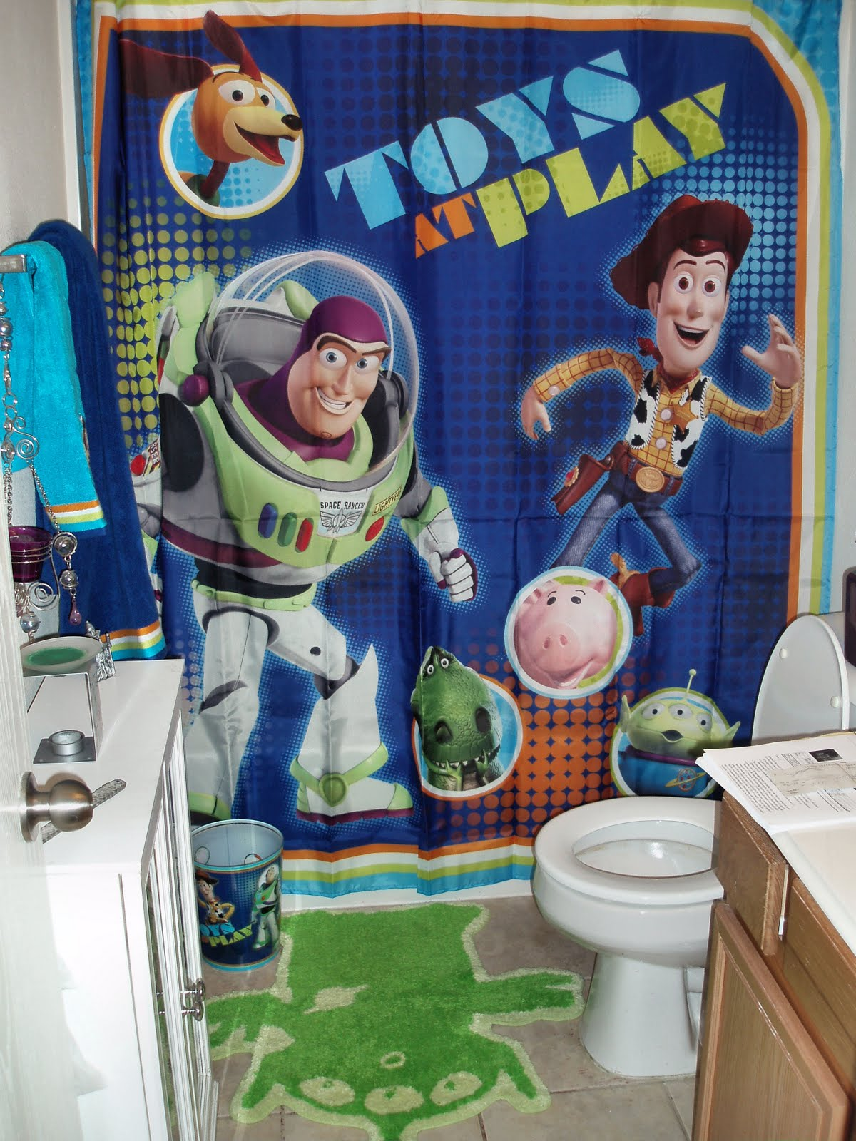 Jeraine Roots Blog Toy Story Bathroom
