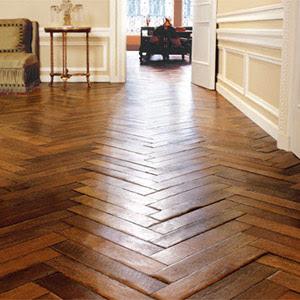 Design Studio B Wide Plank Floors Herringbone Pattern