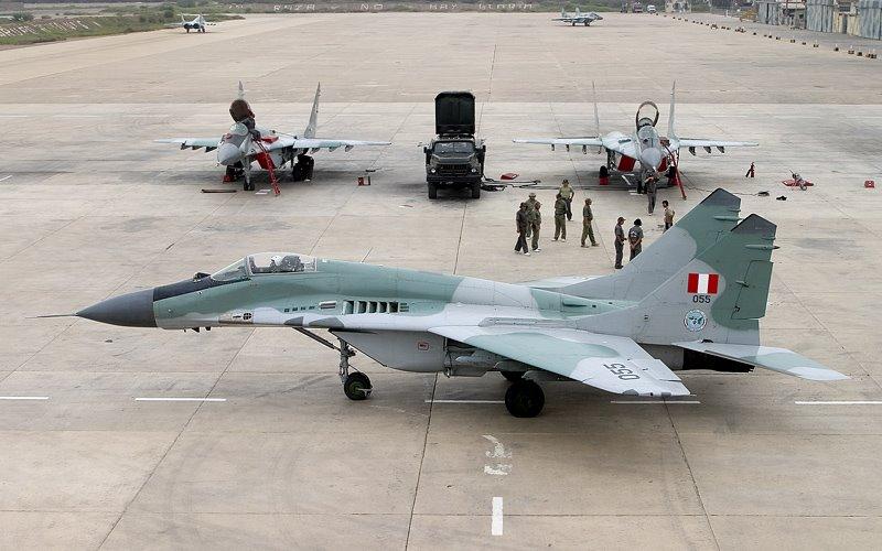 REEMPLAZO PARA EL SISTEMA F-16 FIGHTING FALCON DE LA AVIACION MILITAR BOLIVARIANA - Página 4 Mig-29%2Ben%2Bformaci%C3%B3n
