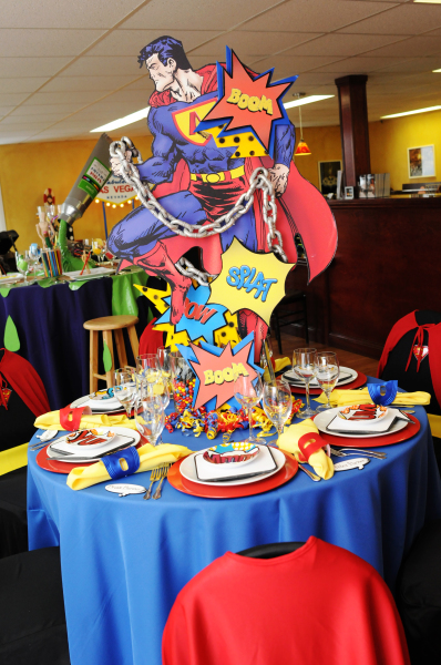 Super Heroes Party Table Setting 398 x 600 · 286 kB · jpeg