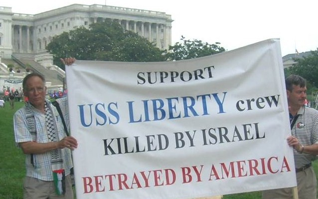 stand with uss liberty against betrayal