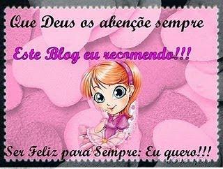SELINHO+BLOG Selinho para o Blog!