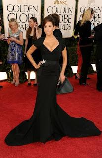 0 Eva Longoria no Golden Globe 2011