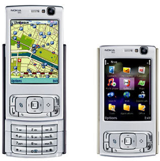 The Nokia 5300 cellular phone with XpressMusic