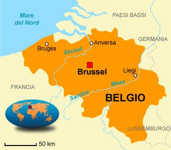 La geografia della secondab il belgio for Piani di casa artigiano del sud vivente