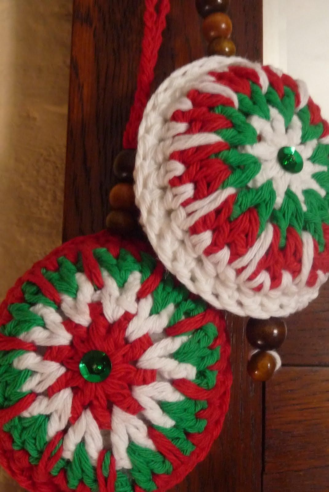 La tienda de textura y punto adornos navide os christmas decoration Adornos navidenos a crochet