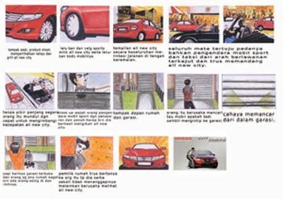 contoh storyboard iklan