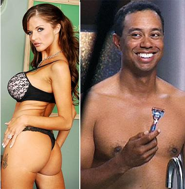 Porn star is seventh woman linked to Tiger Woods - NY