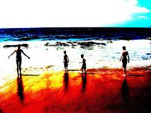 A fun pic I took of my kids at the beach....