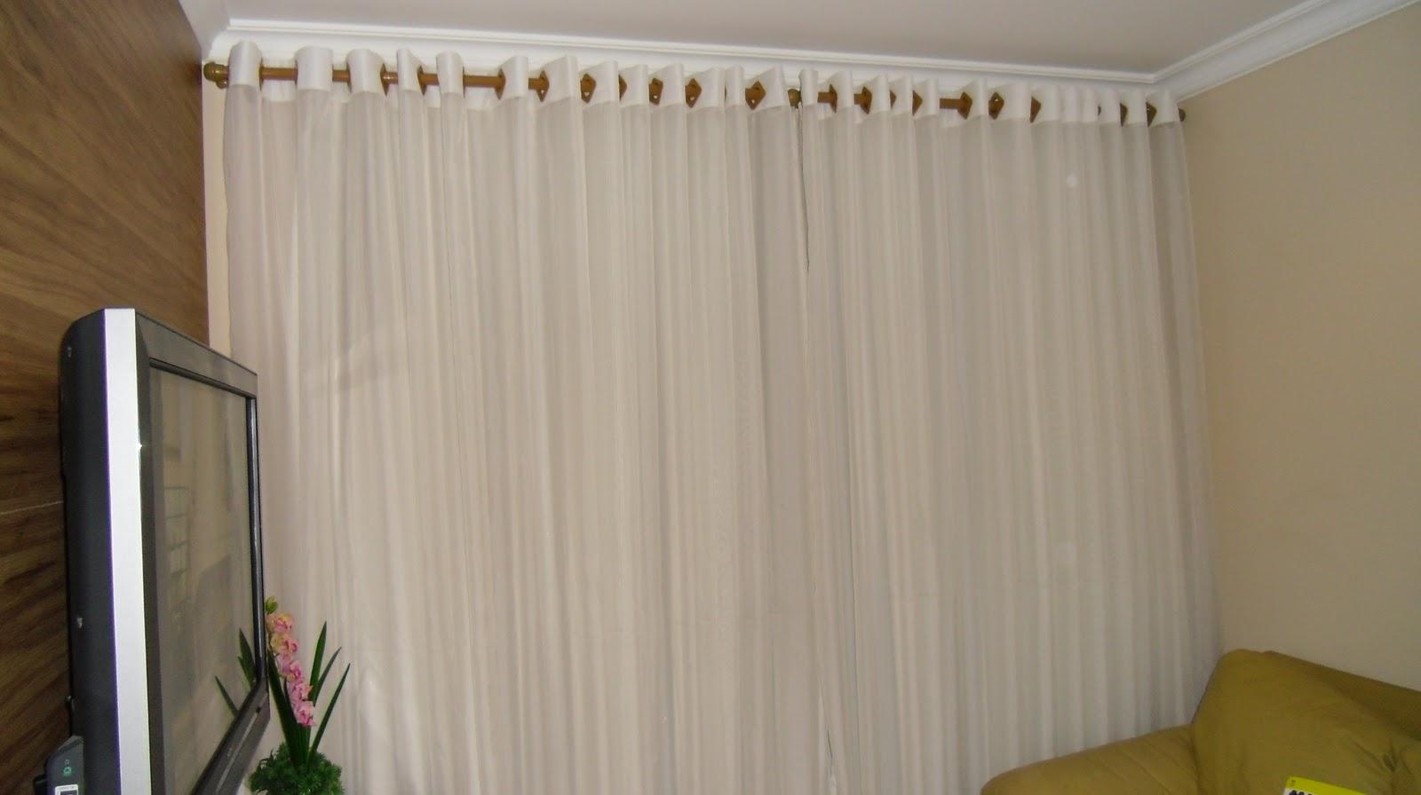 Cortinas Para Sala De Jantar Fotos ~ Rosesgui Cortinas Cortina para sala de jantar