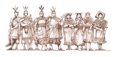 Cuatro parejas de hermanos salen de Tamputoco y se dirigen hacia Acamama para fundar el Reino del Cusco