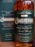 cragganmore distiller's edition