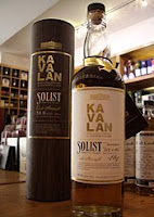 kavalan 'solist' taiwanese whisky