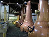 stillroom at benriach distillery