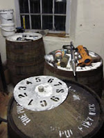 casks at pulteney distillery