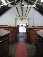 fermentation washbacks at balblair distillery