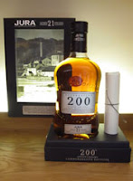 jura 21 years old - 200th anniversary bottling