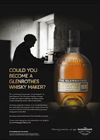 glenrothes whisky makers competition poster