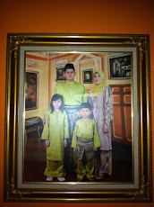 Brother and his wife & son(azlan)