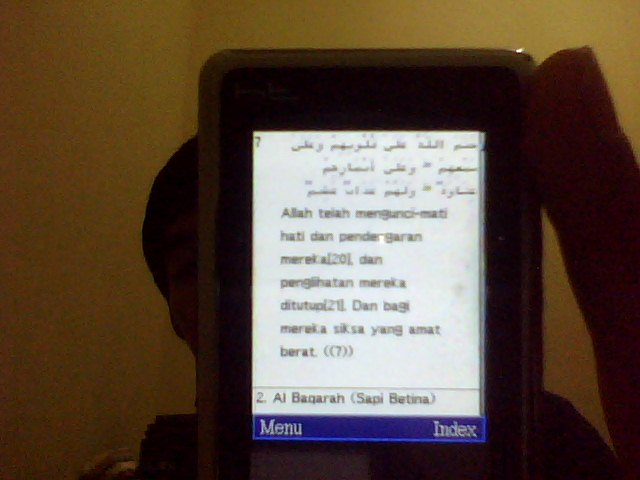 atau anda bisa Install juga Al Quran Digital + Terjemahan klik disini ...
