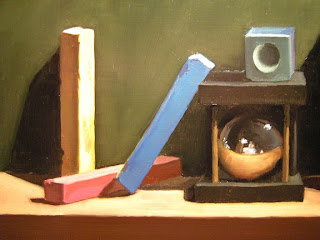 Daily Oil Painting, Still Life, Puzzle 1