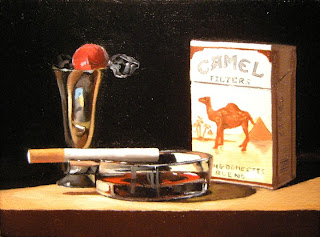 Daily Painting, Oil, Still Life, Vices