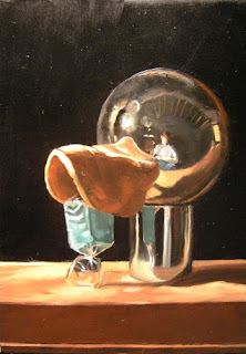 Daily Painting, Oil, Still Life, Constructed Duck