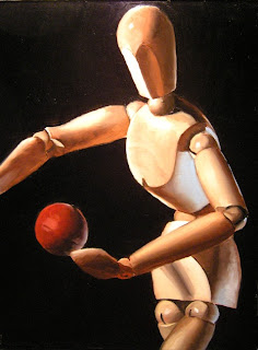Daily Painting, Oil, Still Life, Catch Mannequin 2