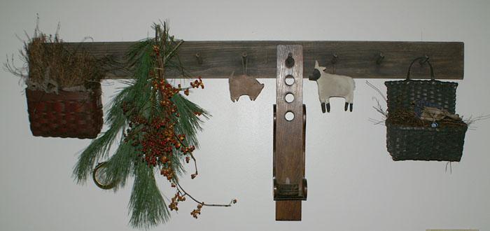 Woolensails Primitive Peg Rack