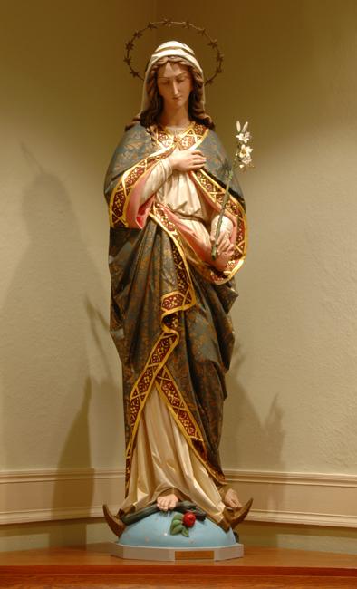 Immacolata Concezione di Maria dans immagini sacre mary_statue
