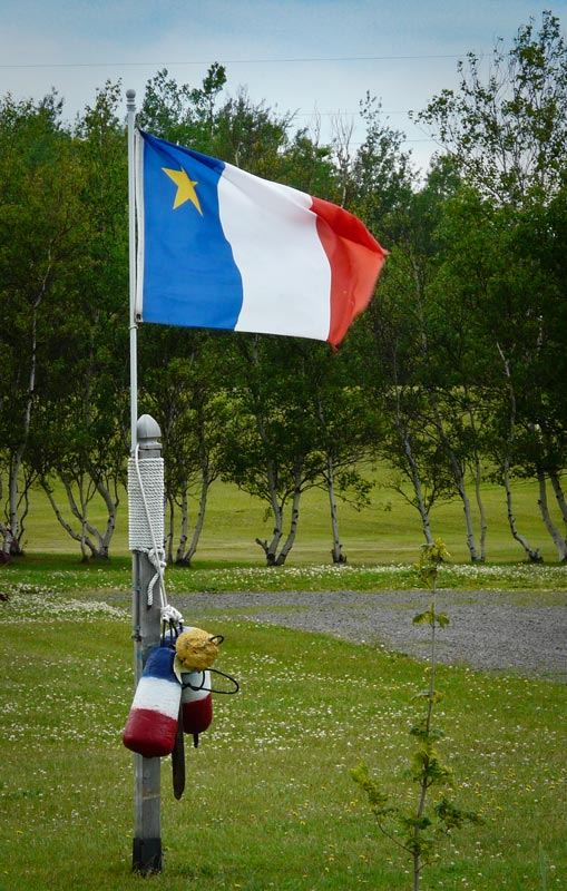 the acadians claimed