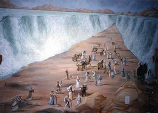 Fenomena Nabi Musa Belah Laut Merah