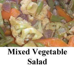 Mixed Vegetable Salad Recipe For Ramadan