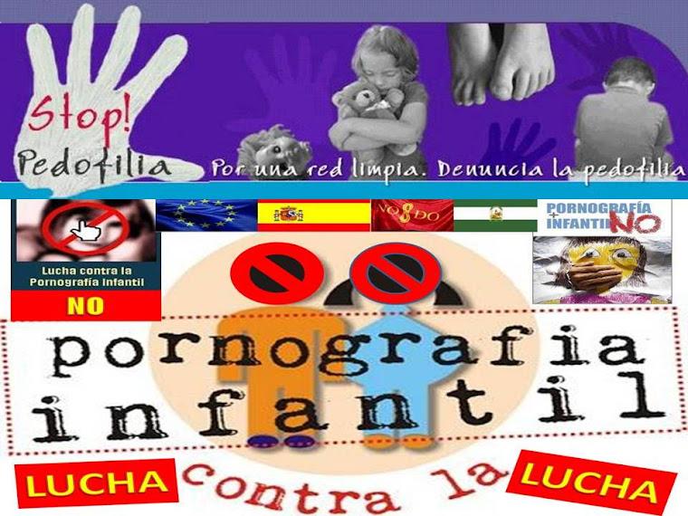 STOP NO A LA PORNOGRAFIA INFANTIL