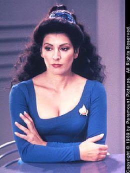 TNG Trek Babe Winner