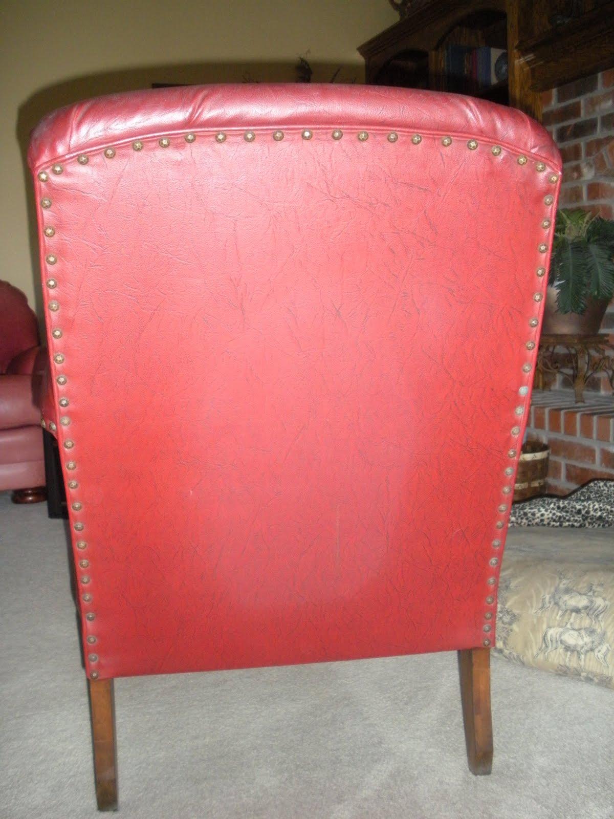 Chair redo taking apart