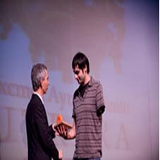 Entrega de Premios II Certamen 2009 Teatro Municipal Enrique de la Cuadra de Utrera